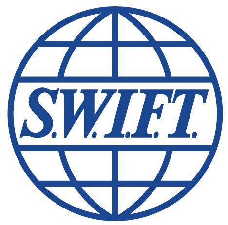 Логотип межбанковской международной системы платежей SWIFT