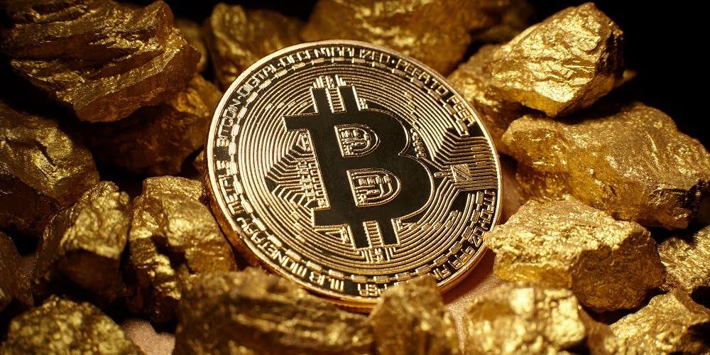 Биткоин и золото в сравнении