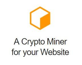 Крипто майнер для вашего сайта Coinhive