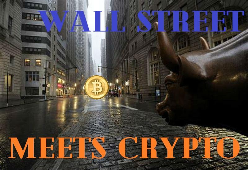 Уолл Стрит встречает криптовалюту